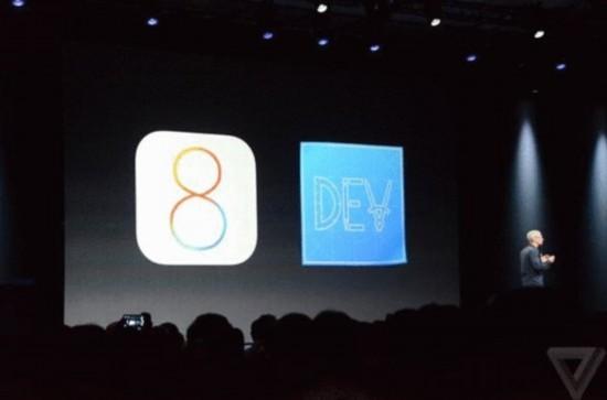 Appe release iOS 8 on WWDC14