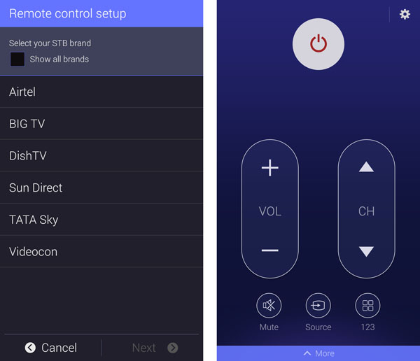 How to control your TV and DTH with the Samsung Galaxy S5