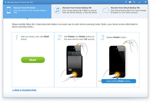 restore lost sms from iphone