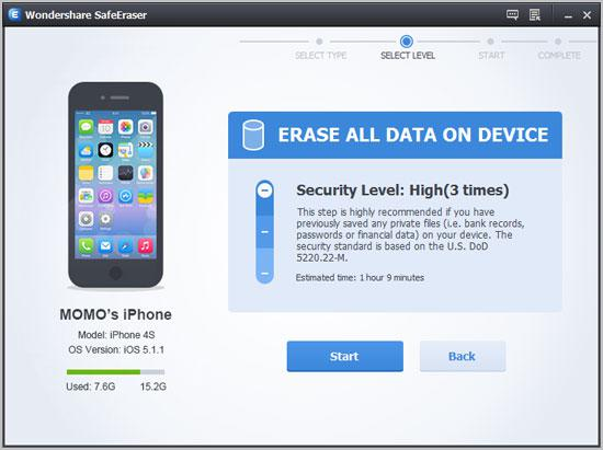 How to permanently delete iphone history