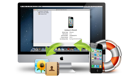 recover iPhone contacts