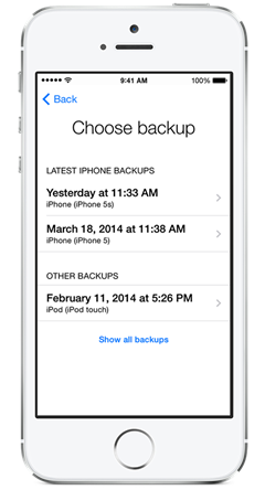 recover data on iCloud